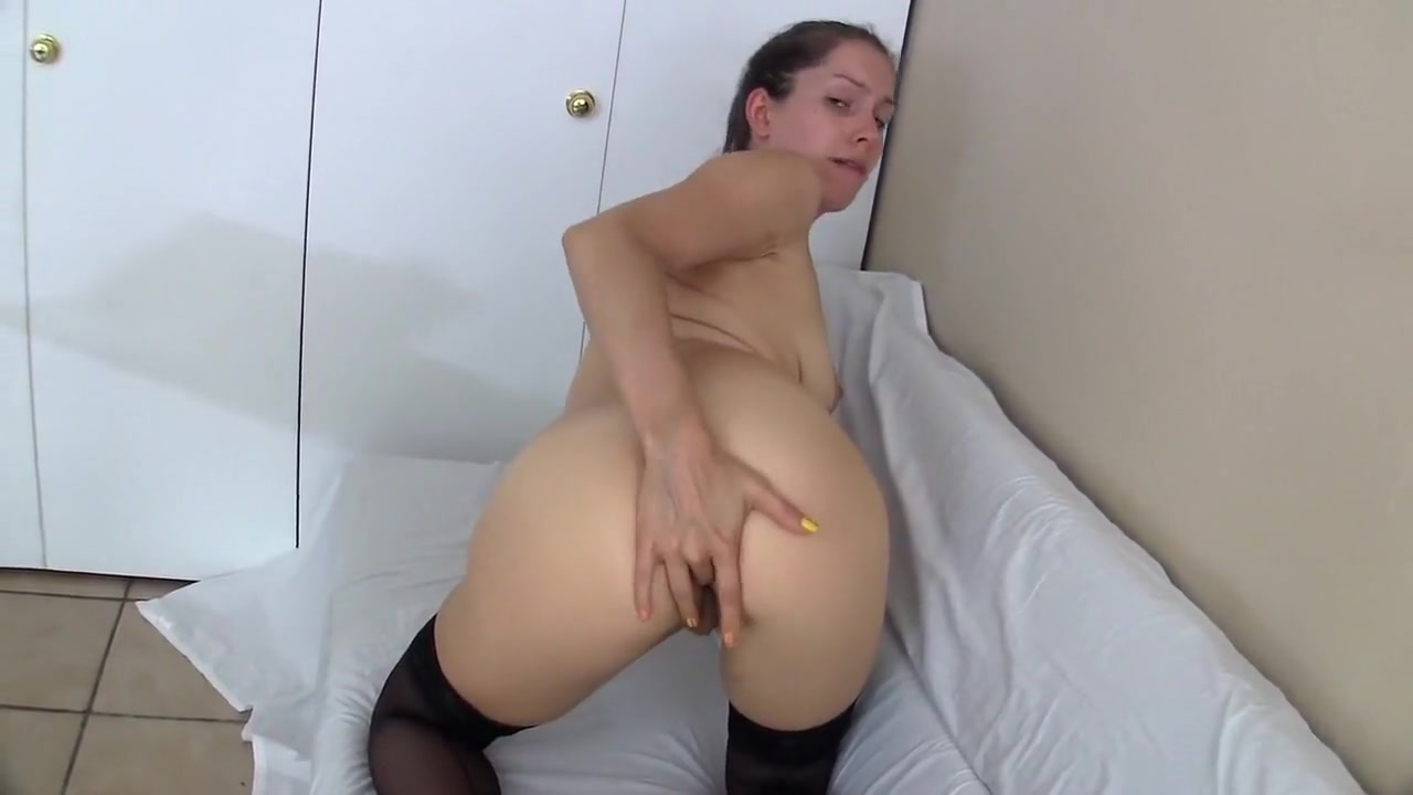 Amazing Amateur Video With Stockings, Masturbation Scenes