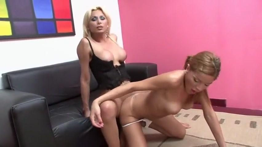 Amazing Homemade Shemale Video With Blonde Fucks Shemale Scenes