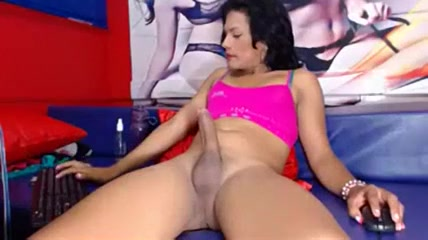 Hottest Amateur Shemale record with Latin, Big Dick scenes
