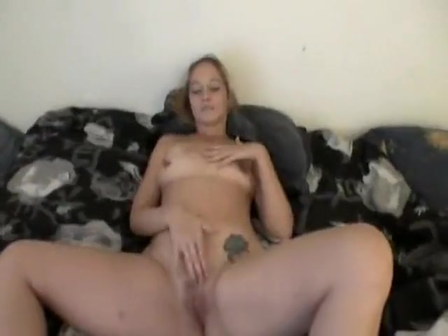 blonde chick masturbates while waiting for cock, c ...