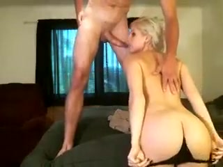 beautiful blonde loves a nice big cock