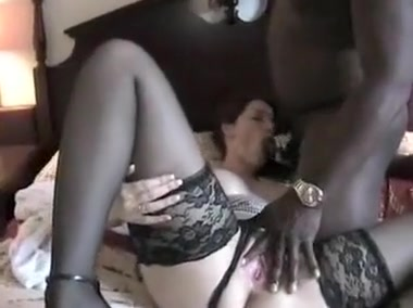 busty brunette milf with black guys sucking and fucking her big black beef
