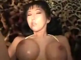 busty asian babe gets her tight hairy pussy and anal hole fucked by big dick