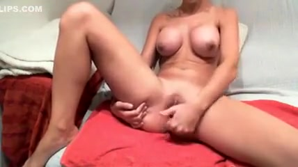 Hot Busty Babe Teases On Live Cam While Fingering Her Creamy Pussy