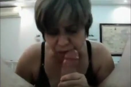 hungry for brown cock sucks a thick dick with gluttony
