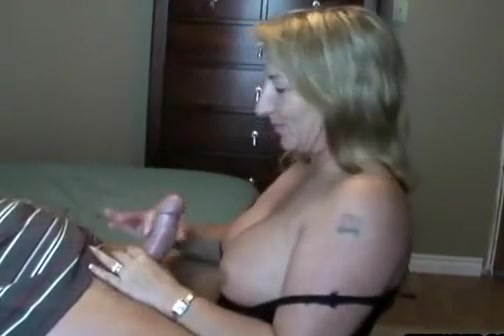 hungry blonde milf cock sucks a stiff cock and hot mature guy