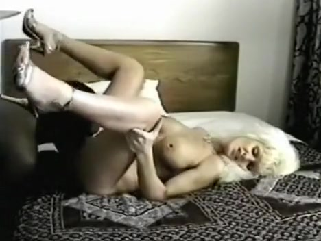 sexy blonde with big tits gets her pussy licked and fucked by black