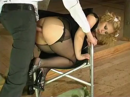 crotchless ropes pantyhose ass and anal