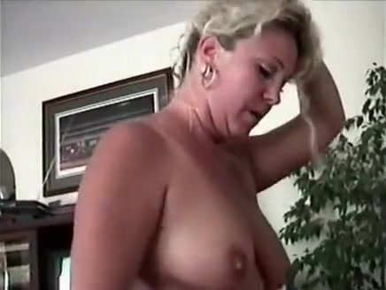 busty blonde milf loves to suck hard cock wildly