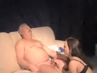 Incredible Amateur Video With Young / Old, Brunette Scenes