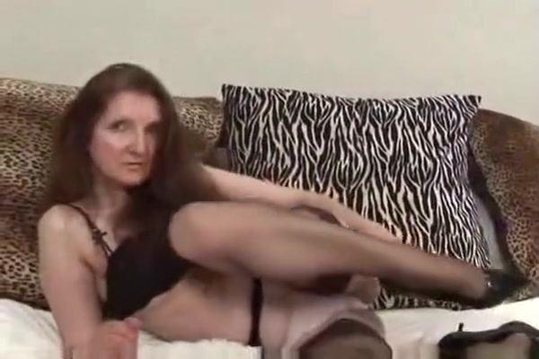 Exotic Homemade Video With Tires, Stockings Scenes