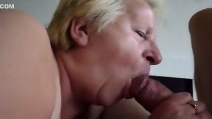 Fabulous Homemade Clip With Blowjob, Granny's Scenes