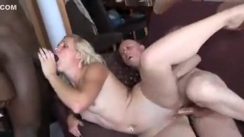 Best Homemade Video With Blonde Scenes At Threesome