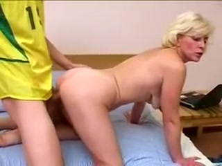 Incredible Homemade Clip With Young / Old, Mature Scenes