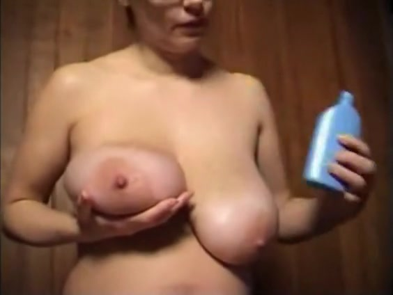 corpulent ex girlfriend playing with her melons and snatched unshaven