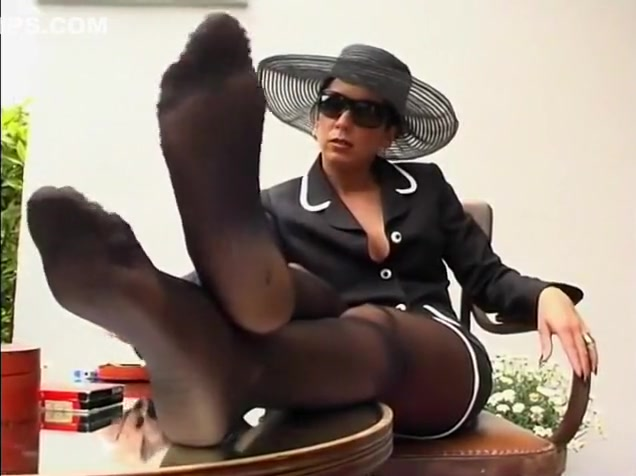 Hottest Mature Amateur, Foot Fetish Sex Clip