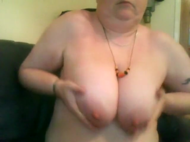 Bbw With Soft Breasts And Hard Nipples With ...