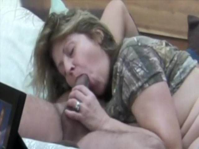 Mature Woman Blowing On Hidden Camera