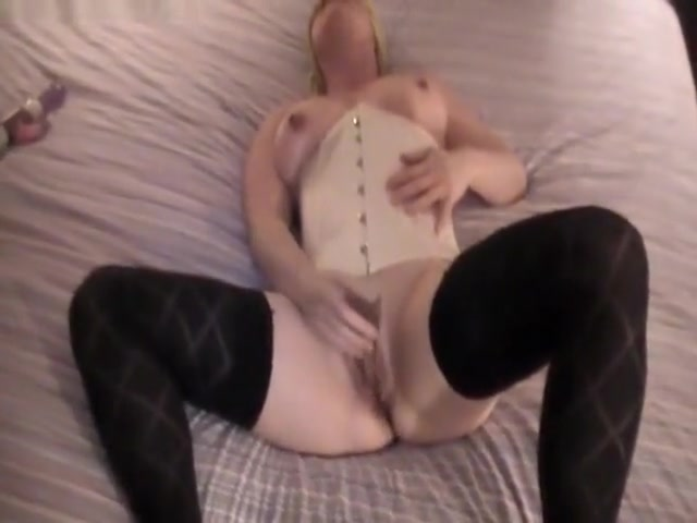 Woman Plays With Her Wet Pussy With Her Jerk Off