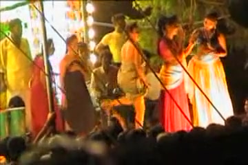 Nude Dance In An Indian Village
