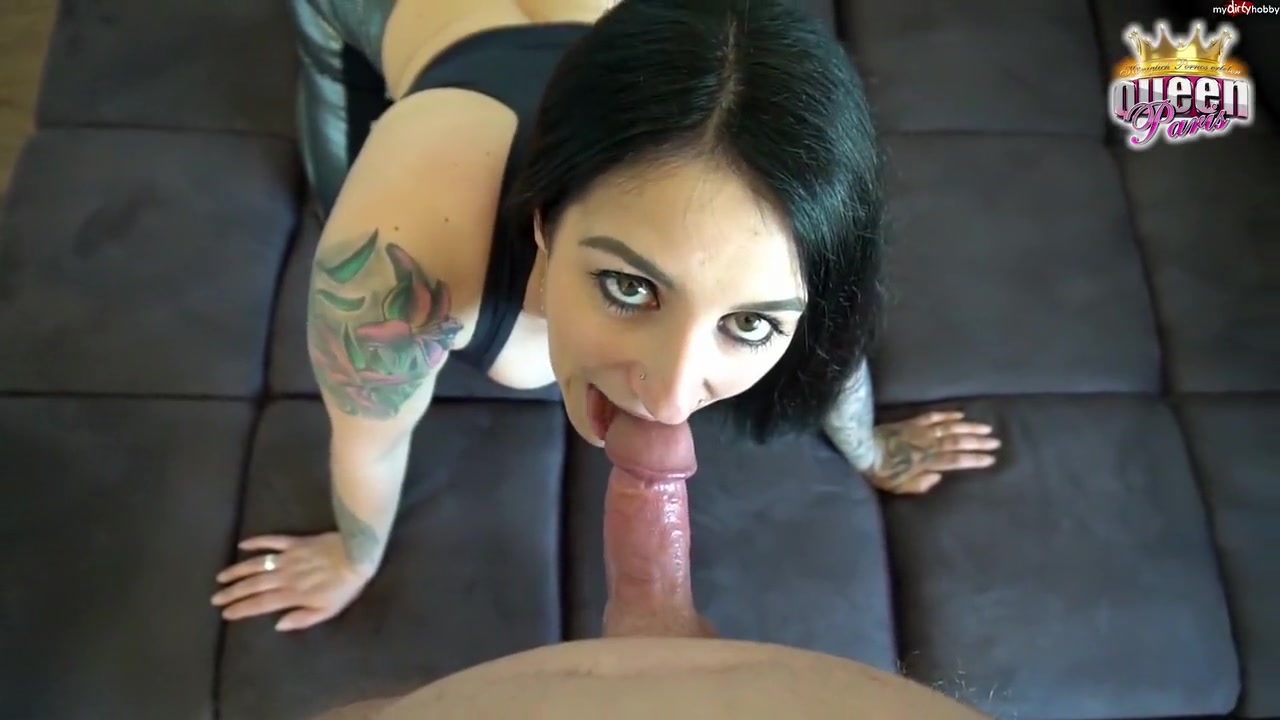 Queenparis - Awesome Ass-Fuck Quicky For Fitness-Bitch! Xxl Sperm Finale !!!