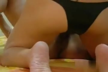 strap on fuck, she loves big cock deep inside her horny pussy