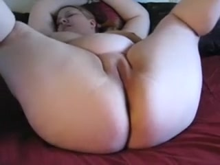Concupiscent Chubby Doxy Plays With One And The Other Holes With New Toys