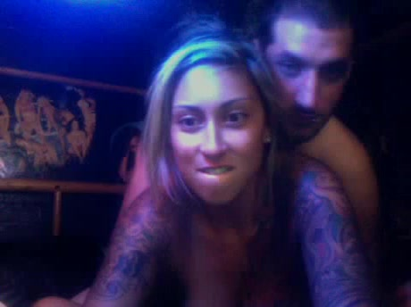 Beautiful Tattooed Blonde Gets Fucked In Ass