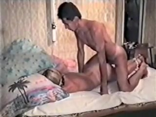 Blonde in amateur homemade BDSM tape