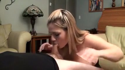 blonde chick can not live without having a strapon fuck her.