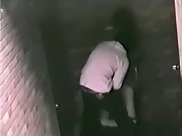 Voyeur captures an asian student getting doggystyle fucked in an alley