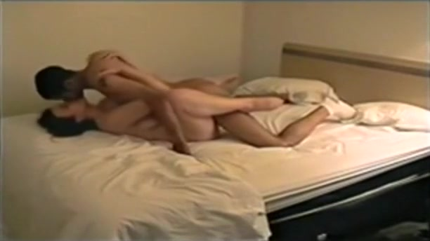white girl cheats on her boyfriend with a black guy in a hotel room