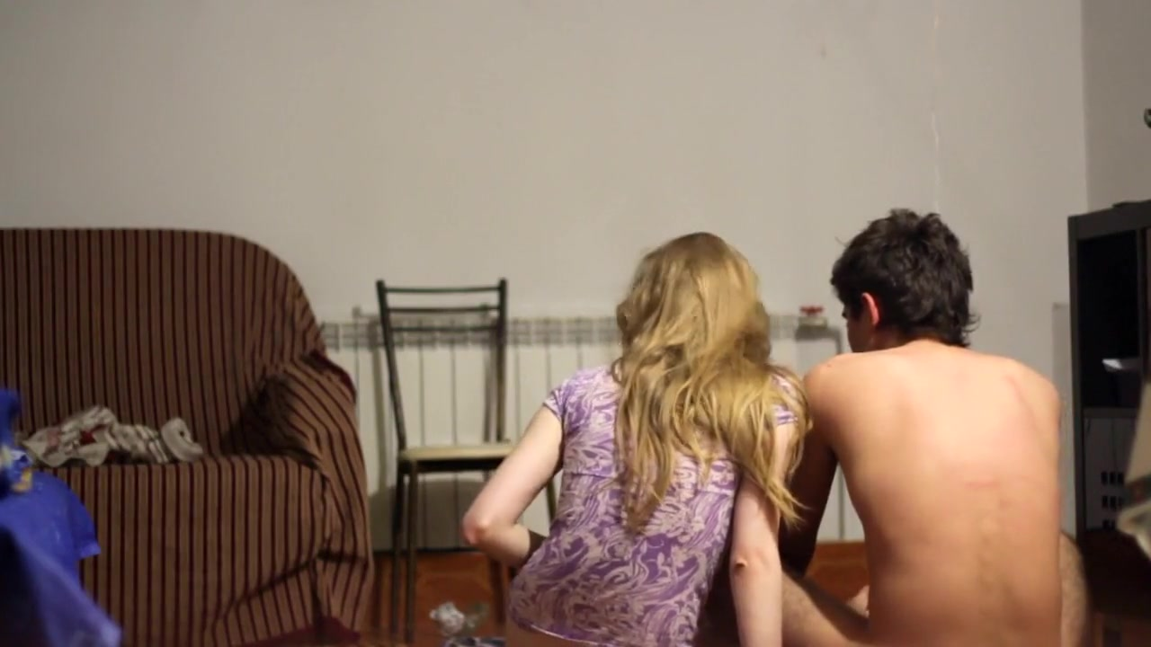 exotic house clip with blonde scenes, couple