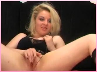 exotic amateur video with blonde, webcam scenes