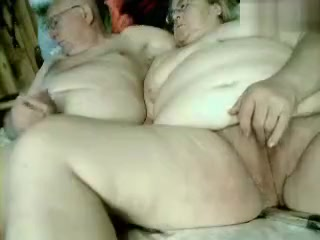 Sssexiest Old Couple Fucks In Front Of The Webcam