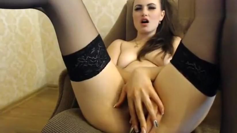 Naughty Missslady Fucks In Front Of The Webcam