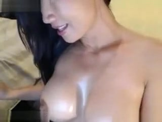 Exotic Webcam record with Asian, Big Tits scenes