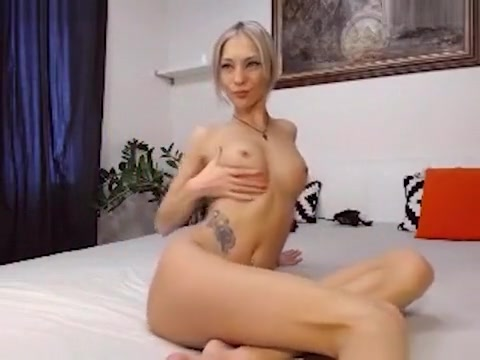 Fabulous Webcam Recording With Blonde, Masturbation Scenes